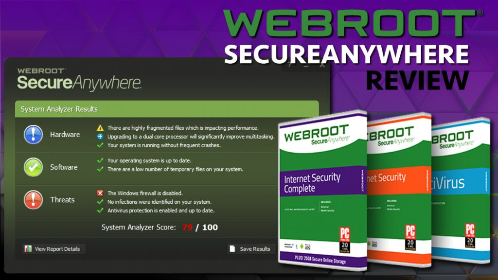 Webroot Internet Security Antivirus